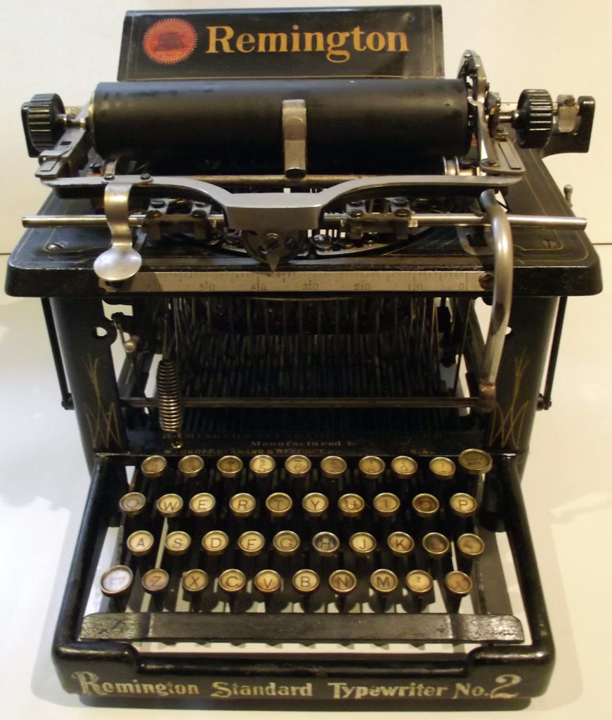 remington typewriter 2