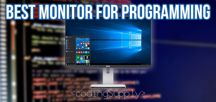 Best Monitor for Programming 2019
