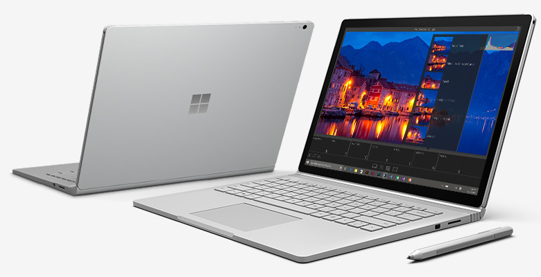 surface book programming