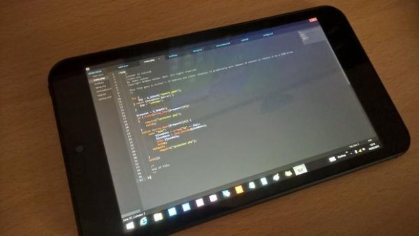tablet coding